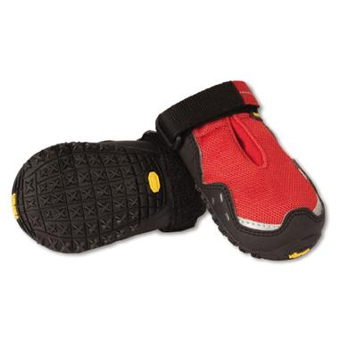 RuffWear Grip Trex Red Currant Dog Boots Large