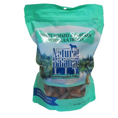 Natural Balance Chicken and Sweet Potato Dog Treats 14-oz.