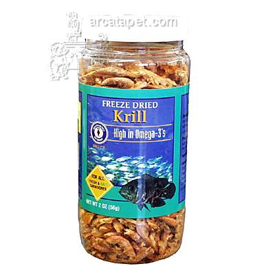 San Francisco Bay Brand Freeze Dried Krill Fish Food 2 ounce
