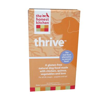 Honest Kitchen Thrive Dehydrated RAW Dog Food 4-oz