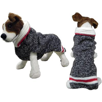 Handmade Dog Sweater Wool Boyfriend Shawl XSmall