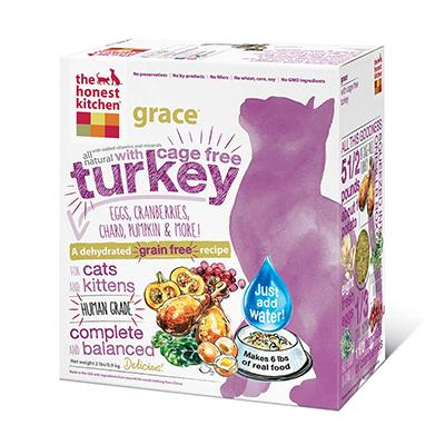 The Honest Kitchen Grace 2 lb Dehydrated RAW Cat Food