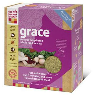 The Honest Kitchen Grace 4 lb Dehydrated RAW Cat Food