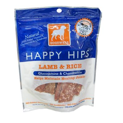 Dogswell Happy Hips Lamb & Rice Dog Treats 5 oz