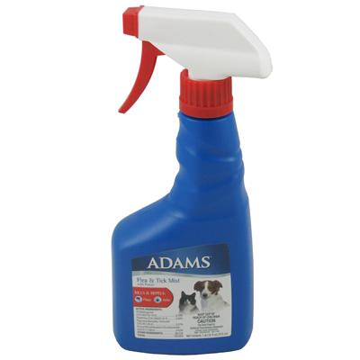 Adams Flea & Tick Spray Mist for Dogs and Cats 16-oz.