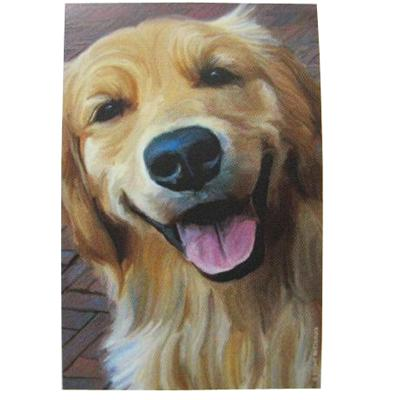 Robert McClintock Licensed Garden Flag Golden Retriever