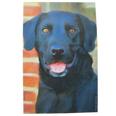 Robert McClintock Licensed Garden Flag Black Labrador