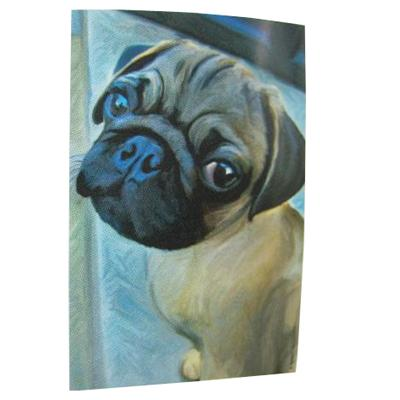 Robert McClintock Licensed Garden Flag Pug