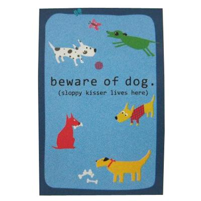 Dog Lover Garden Flag Beware of Dog