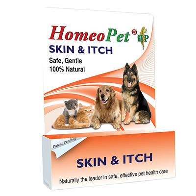 Homeopet Skin & Itch Relief Homeopathic Pet Remedy 15ML
