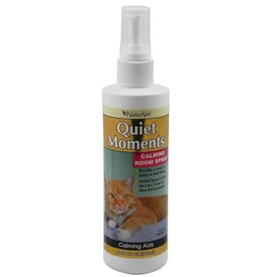 NaturVet Quiet Moments Calming Spray for Cats 8-oz.