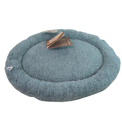 West Paw Nature Nap Blue Cat and Small Dog Oval Pet Bed