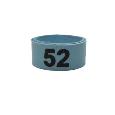 Poultry Numbered Leg Bandette Blue Size 12 (single band)