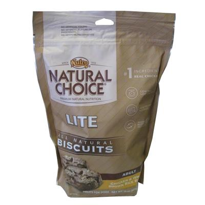 Nutro Natural Choice Lite Adult Dog Biscuits 16-oz.