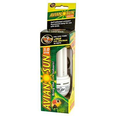 Zoo Med AvianSun Compact Fluorescent Bulb 26 watt