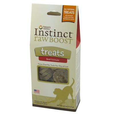 Boost Bites Freeze Dried Raw Beef Dog and Cat Treats 4-oz