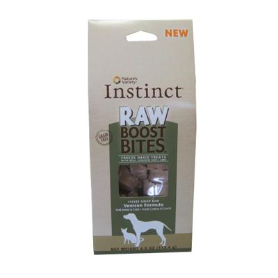 Boost Bites Freeze Dried Venison Dog and Cat Treats 4-oz