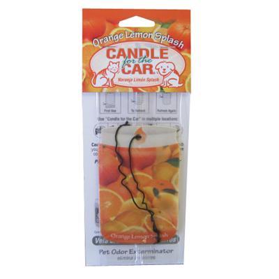 Candle For the Car Lemon Splash Pet Odor Eliminator