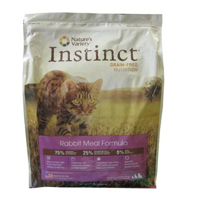 Nature's Variety Instinct Rabbit Meal Cat Food 5.5-Lb.