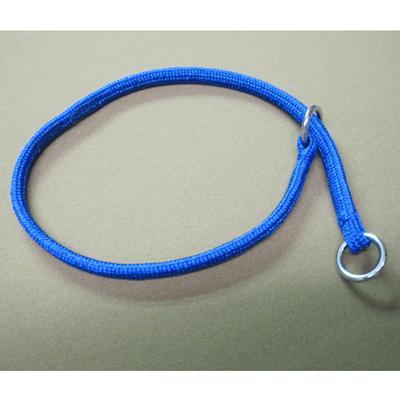 Nylon Dog Choke Blue Collar 12