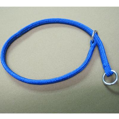Nylon Dog Choke Blue Collar 14