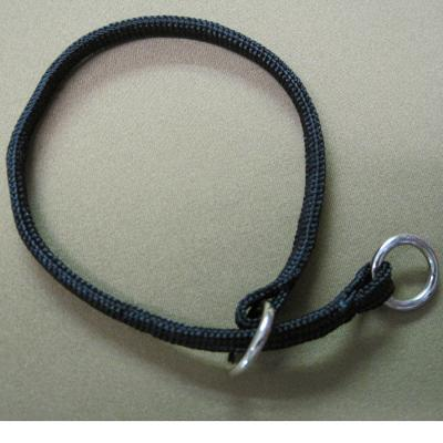 Nylon Dog Choke Black Collar 14