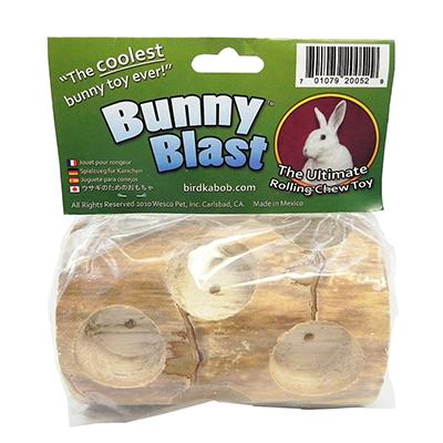 Wesco Bunny Blast Chew Log for Rabbits, Rats