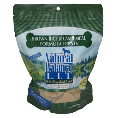 Natural Balance Lamb and Rice Dog Treats 14-oz.