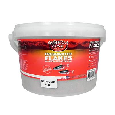 Omega One Freshwater Flakes Fish Food 12-oz.