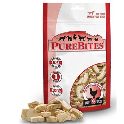 PureBites Freeze Dried Chicken Breast Dog Treat 6-oz
