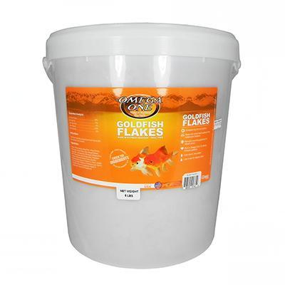 Omega One Goldfish Flakes Fish Food 5-Lb.