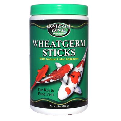 Omega One Wheat Germ Sticks Fish Food 8-oz.