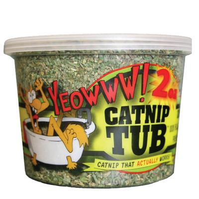 Yeowww! Potent Fresh Catnip 2-oz. Tub