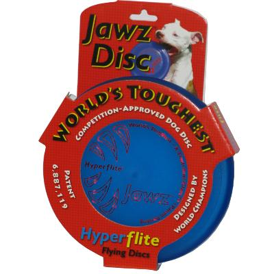 Hyperflite Jawz Blueberry Competition Dog Sport Disc