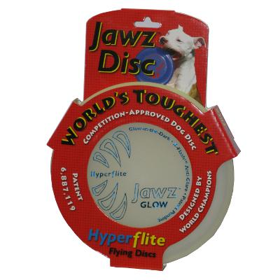 Hyperflite Jawz Glow Competition Dog Sport Disc