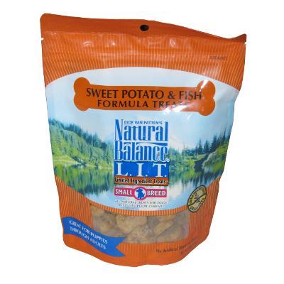 Natural Balance Fish Sweet Potato Treat Small Breed