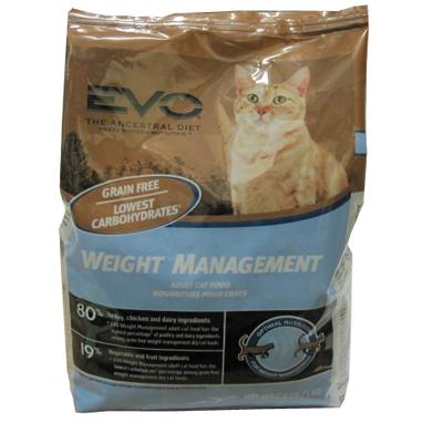 Evo Weight Management Dry Cat Food 2.2-Lb.