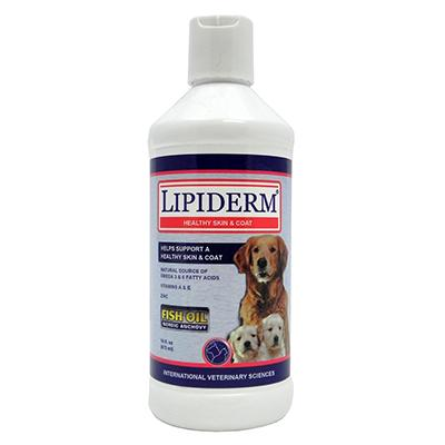 Lipiderm Dog Skin and Coat Supplement 16 ounce