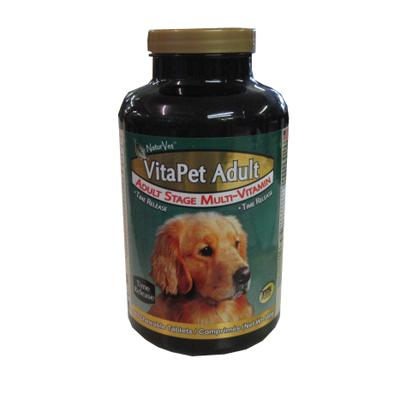 NaturVet VitaPet Adult Dog Time Release Multi-Vitamin 180ct.