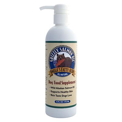 Grizzly Salmon Oil 16oz