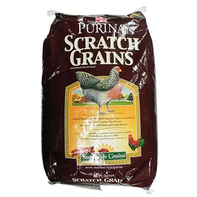 Purina Scratch Grain For Chickens 50 lbs