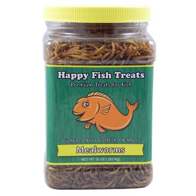 Fish Go Wild Dried Mealworm Treat for Fish 5-oz.
