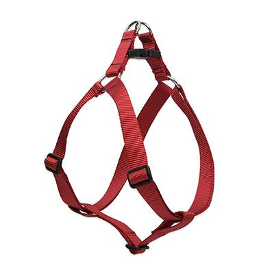 Lupine Nylon Dog Harness Step In Red 15-21-inch
