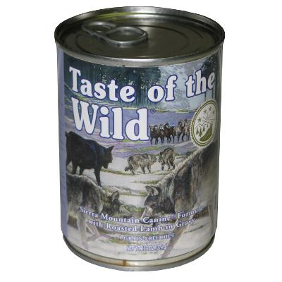 Taste Of The Wild Sierra Mountain Canned Dog