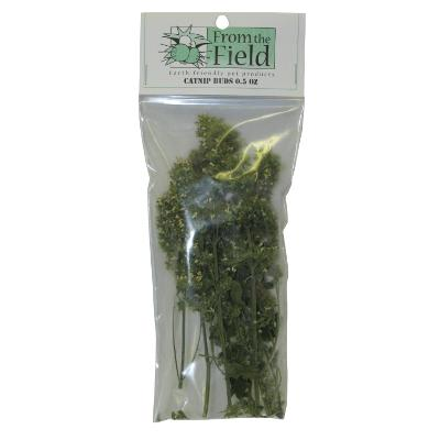 From the Field Catnip Buds for Cats 0.5-oz.