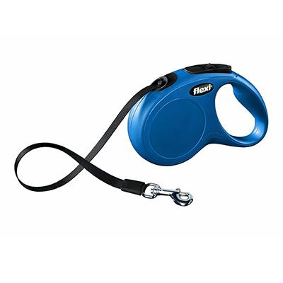 Flexi Durabelt Medium Blue Retractable Lead for Dogs