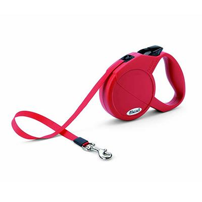Flexi Durabelt Small Red Retractable Lead for Dogs