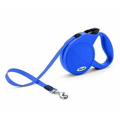 Flexi Durabelt Small Blue Retractable Lead for Dogs