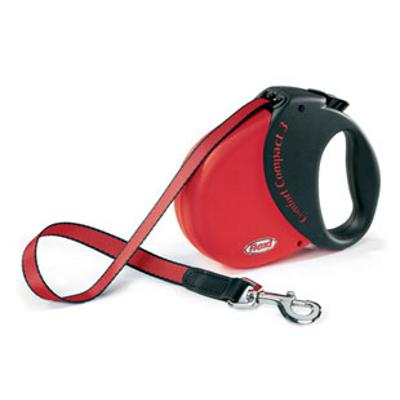 Flexi Durabelt Large Red 16-Ft. Retractable Lead for Dogs