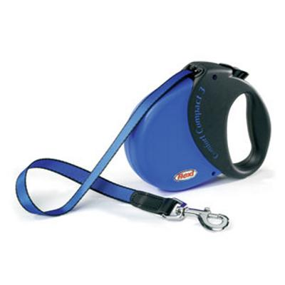 Flexi Durabelt Large Blue 16-Ft. Retractable Lead for Dogs